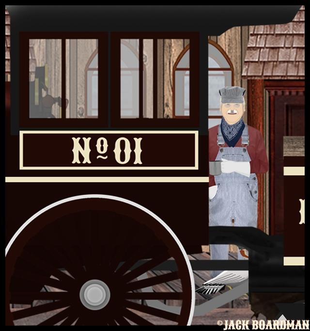 Locomotive #01 appeared