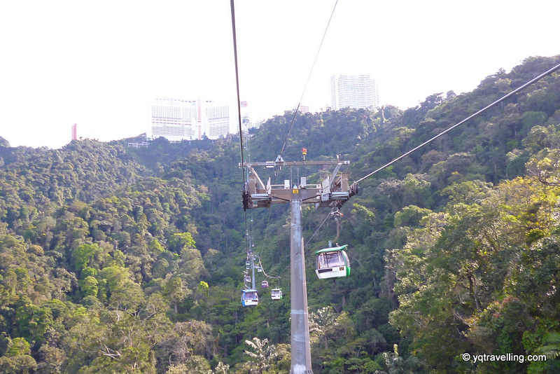 Cable ride to Genting Highlands