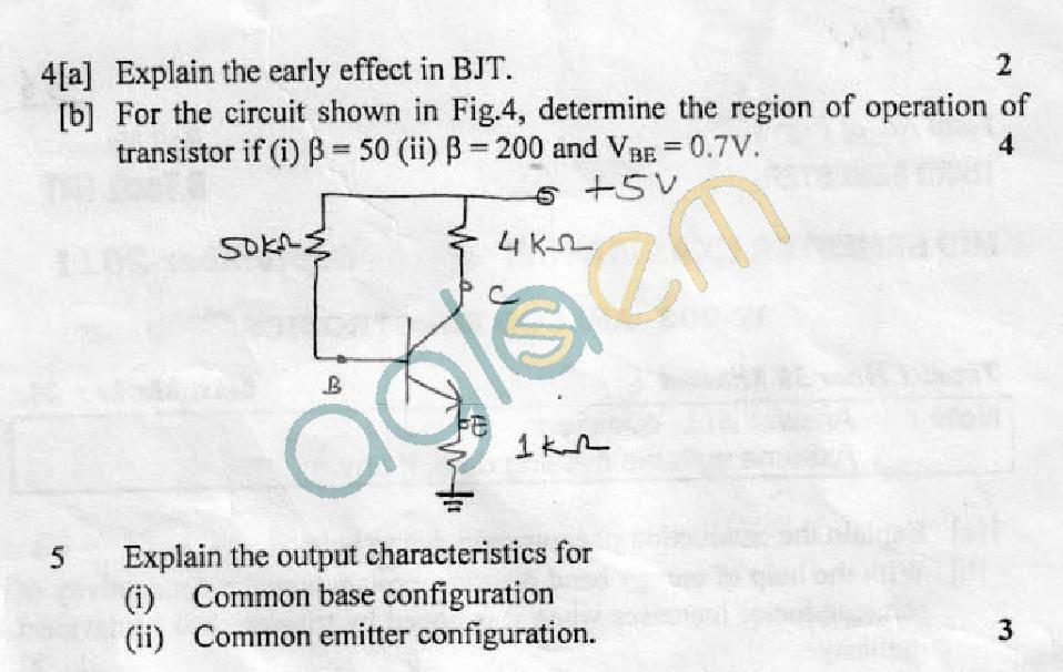 DTU Question Papers 2011 - 3 Semester - Mid Sem - IT-203