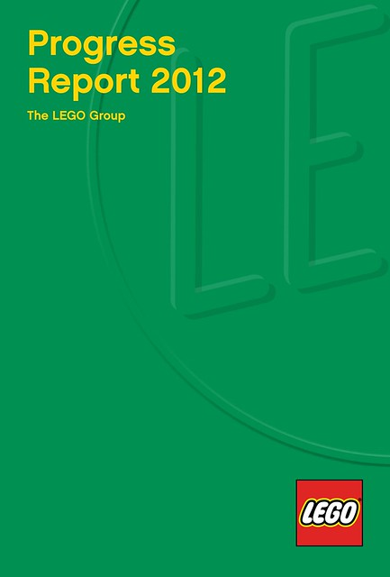 LEGO Progress Report 2012 cover