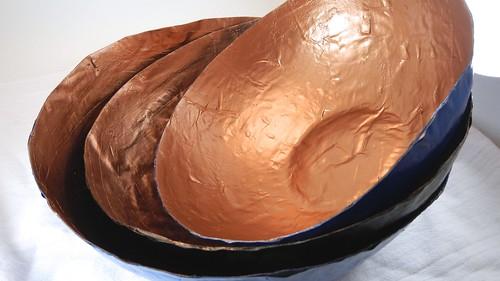Papier Mache Bowls 35