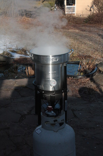 Making Maple Syrup!