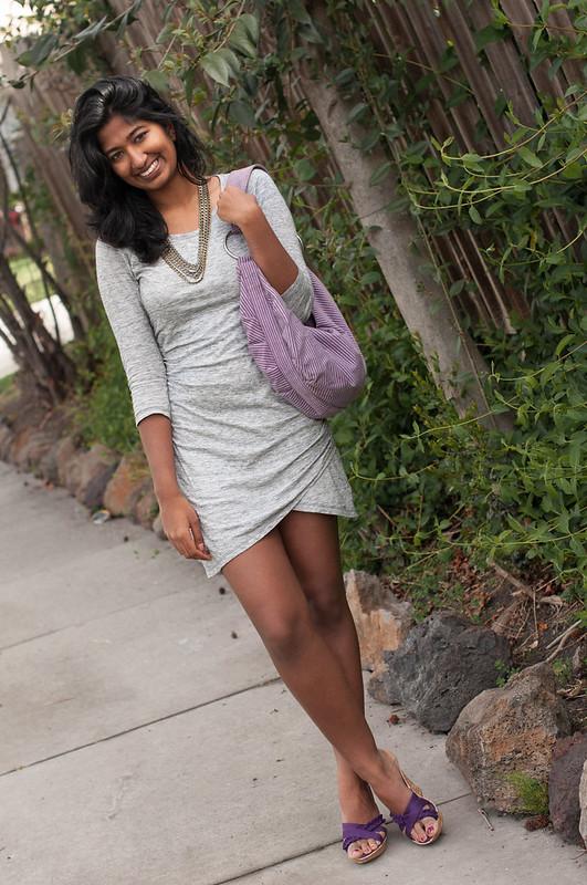 My Little Gray Dress-6