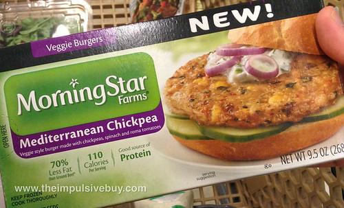 MorningStar Farms Mediterranean Chickpea Veggie Burgers