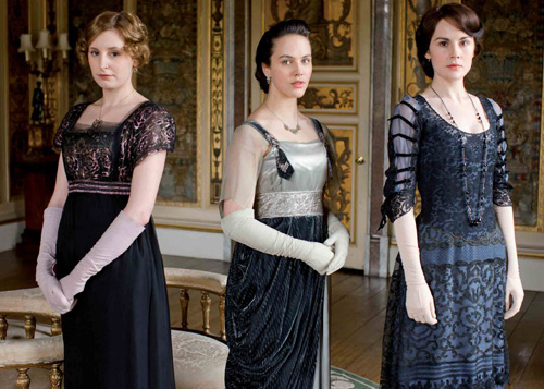 Promo shot for Downton Abbey