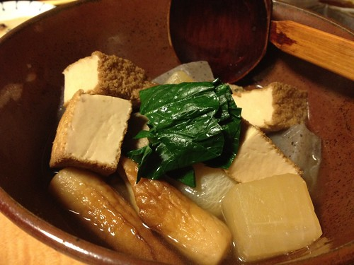 おでん風煮込み料理@銀魚 (ぎんぎょ)