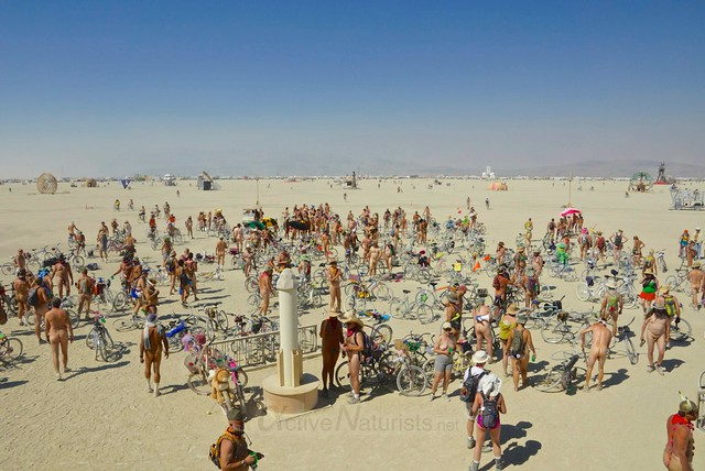 naturist 0009 Burning Man 2012, Black Rock City, NV, USA