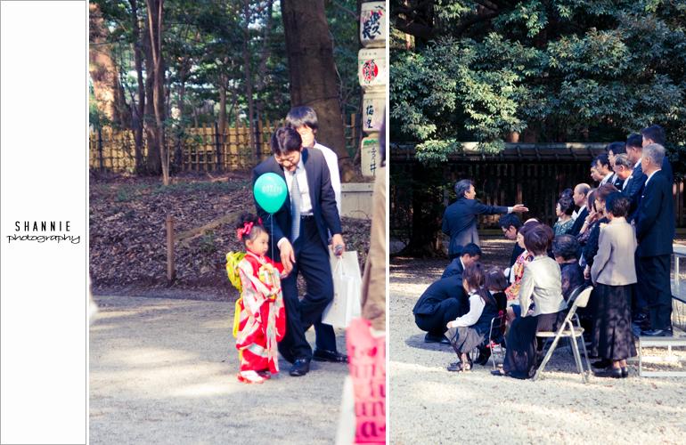 Tokyo Sights - Meiji Shrine Shichi-Go-San 明治神宮 七五三