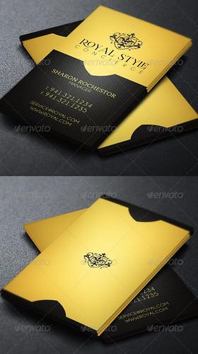 Royal Concierge Business Card Template