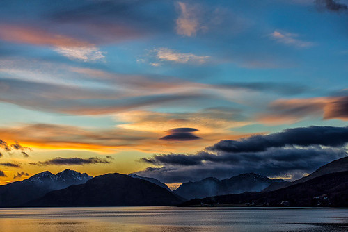 Sunset Loch Linnhe by emperor1959