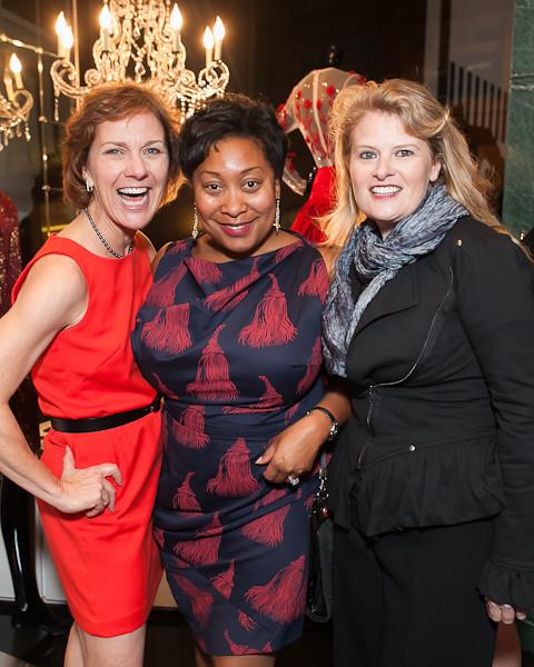 Lee Gregory, Gwyneth Borden, Lisa Ligon