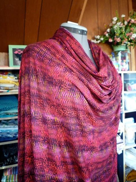 Soon-To-Be Tiramisu Dress in Rayon Knit