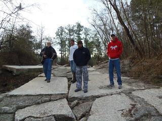 Our hosts: Travis Bennett, Brett Huntley, and Kristofer Lee Graham (jsq on the left)