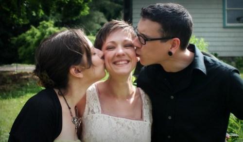 Wedding celebration.