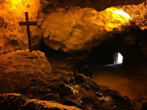 Cave of Saint Anthony the Great, Qozhaya, Lebanon (February 2013)