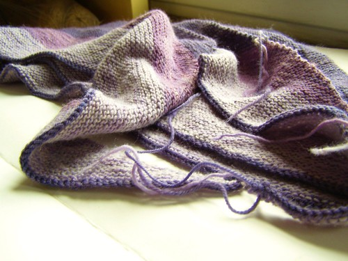 flourish tie shawl