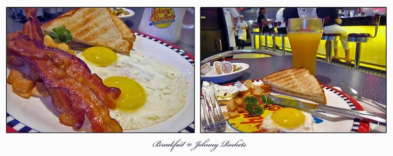 Breakfast @ Johnny Rockets
