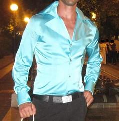 camicia lucida uomo