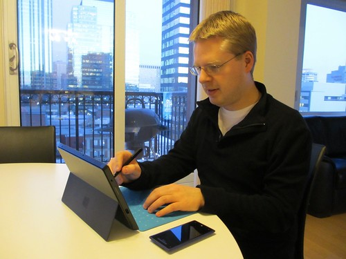 Surface Pro & HTC Windows Phone 8X