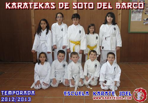 Karatekas de Soto del Barco