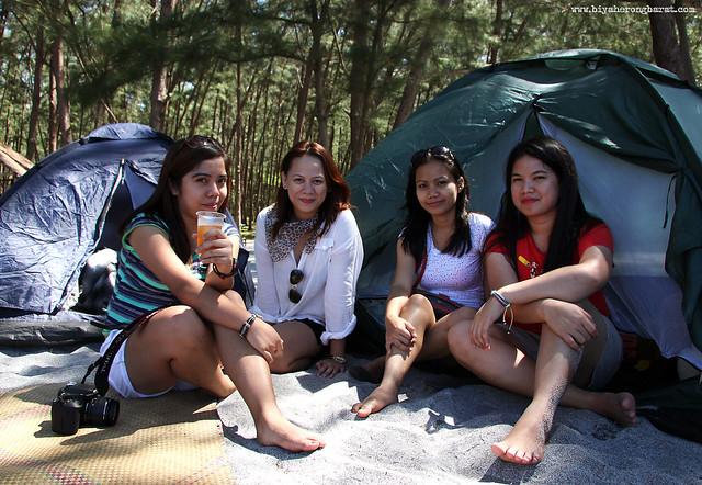 Camping in Anawangin Cove Zambales