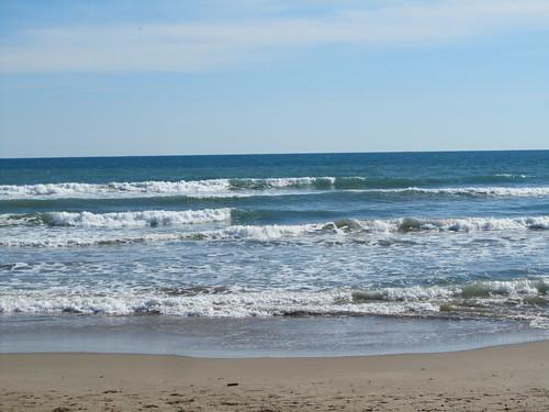 Playa en invierno by debolsillo