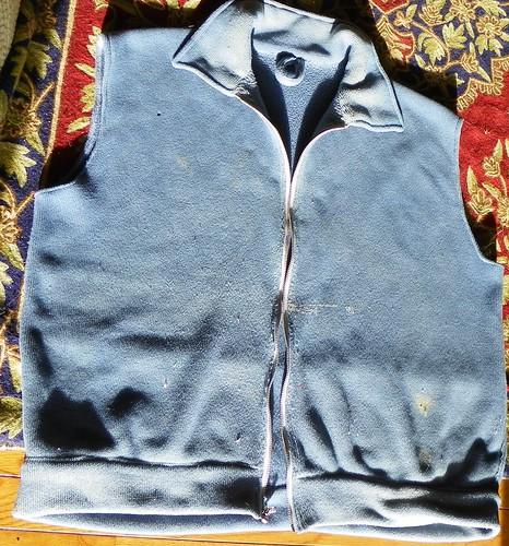 Last year's vest