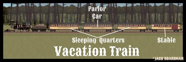 Vacation Train Cars