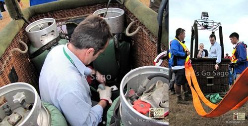 Balloon Pilot Nick Betin from England
