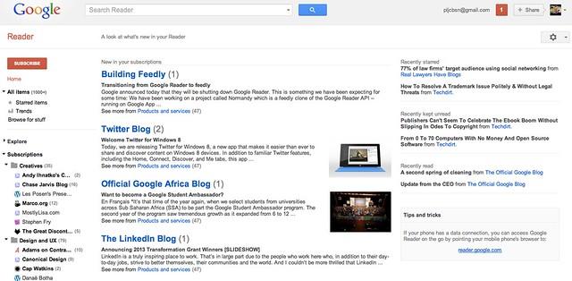 2013-03-14_Google_Reader_landing_page
