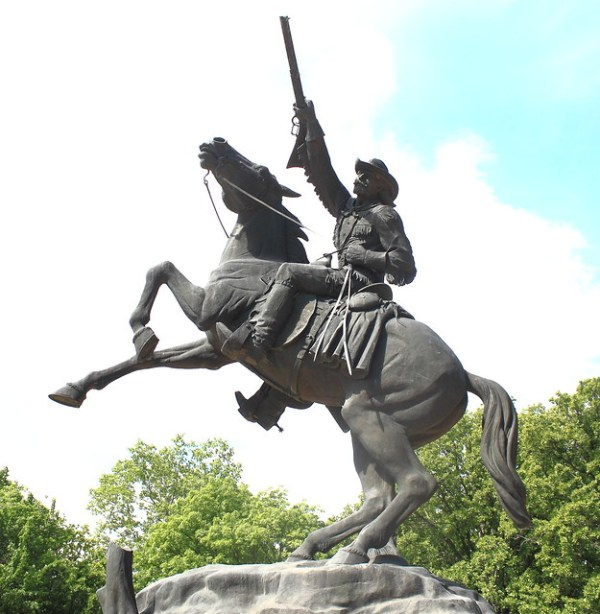 Buffalo Bill Cody Statue on Grounds of National Cowboy and ...