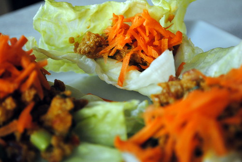 Thai Turkey Lettuce Wrap