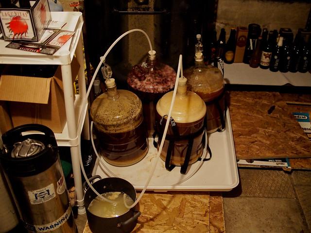 Fermenting Beer in Carboys