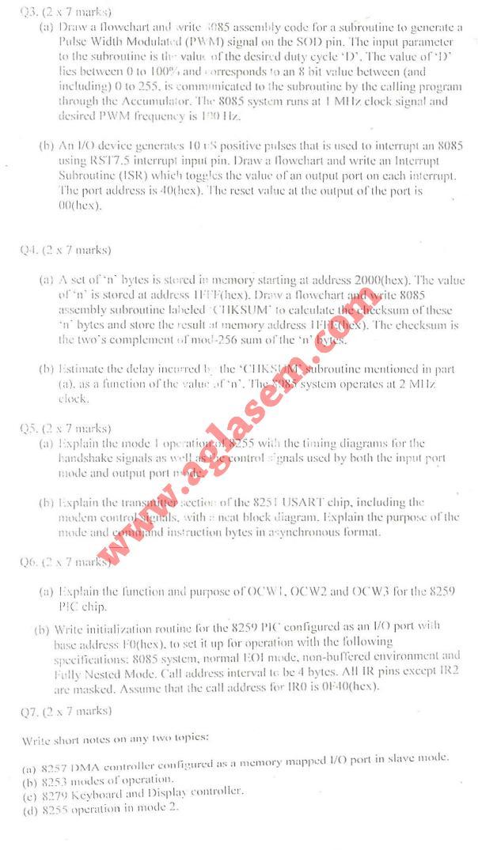 NSIT: Question Papers 2009 – 6 Semester - End Sem - EC-COE-IC-311