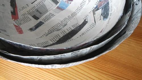 Papier Mache Bowls 15