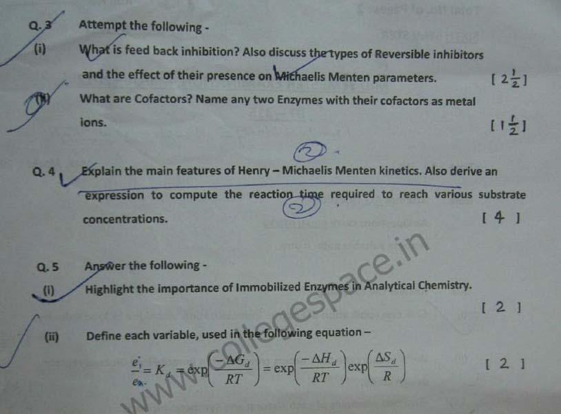 NSIT Question Papers 2012 – 6 Semester - Mid Sem - BT-315