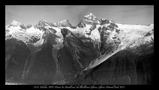 Mt. Sir Donald in Glacier National Park