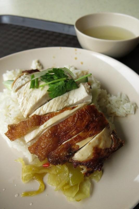 Hainanese Boneless Chicken Rice at Tiong Bahru