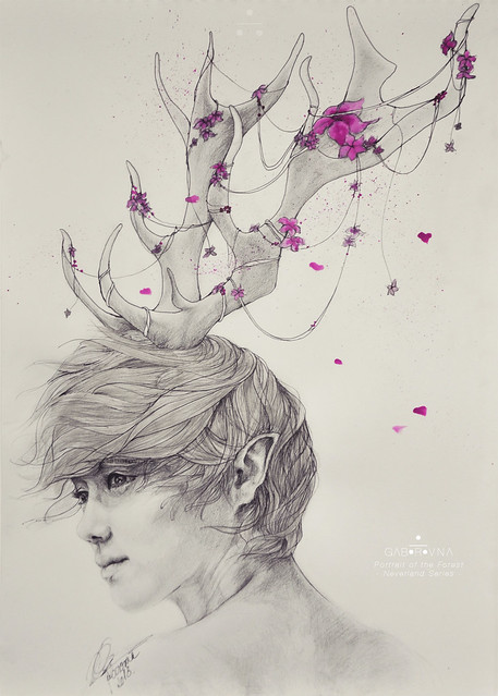 Portrait of the Forest (Luhan fanart)