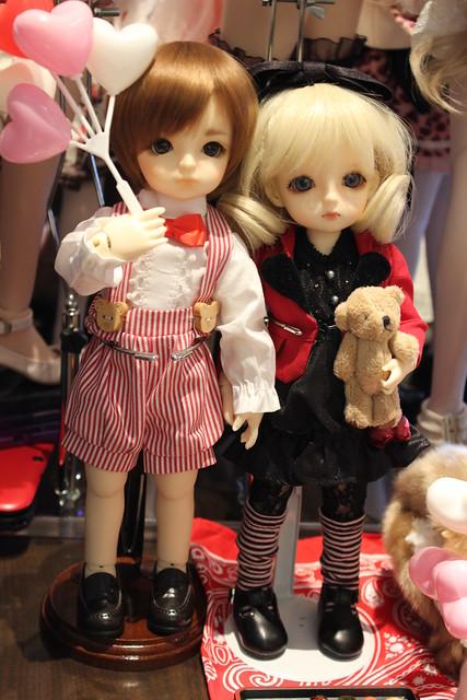Yukio & Delilah on a little date ^_^