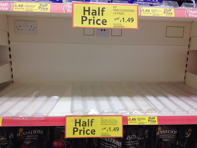Tescos stock levels