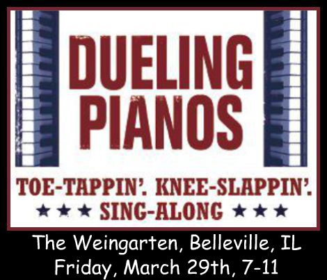Dueling Pianos 3-29-13