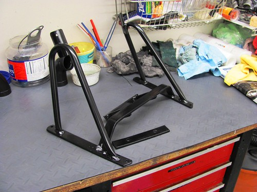 Powder Coat - Fairing Bracket