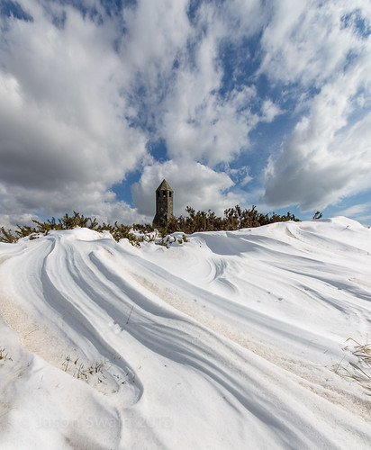 Formation & Elegance - Snow Drifts at the Pepperpot Lighthouse