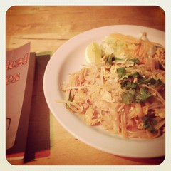 Prawn Pad Thai at Kaosarn Brixton, D.A. Carson's Exegetical Fallacies