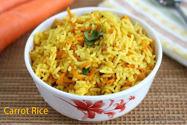 Carrot rice 2