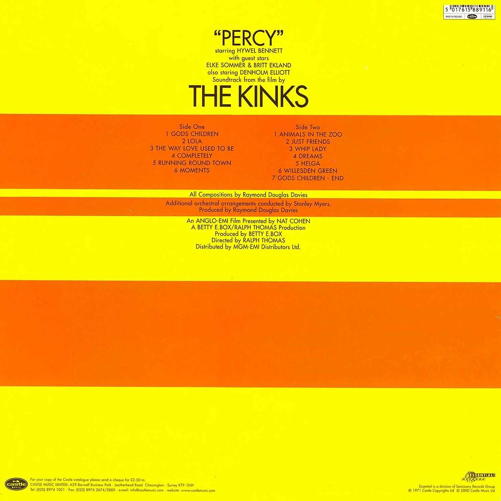The Kinks - Percy b