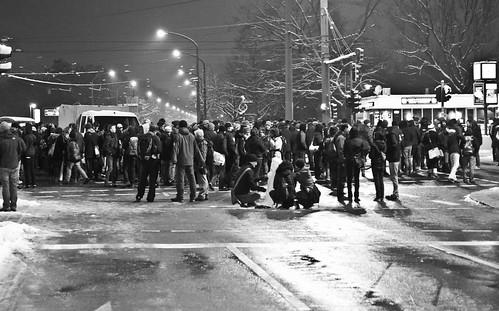 13 februar 2013 Blockade Straßburger Platz