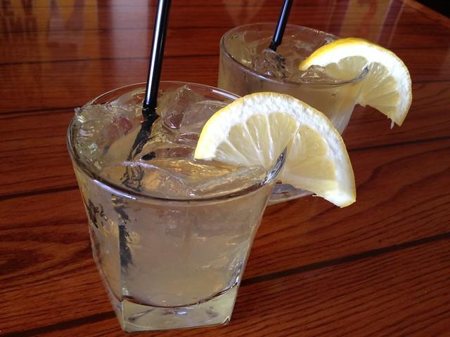 Lemon Bulleit cocktail - South Beach Bar & Grille