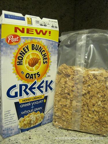 Honey Bunches of Oats Greek Honey Crunch Bag